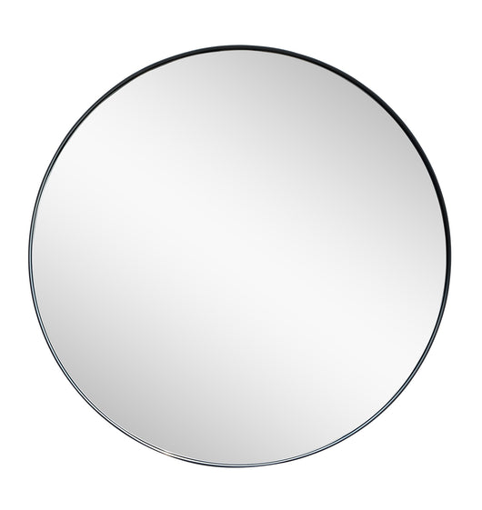 Simple chic round mirror