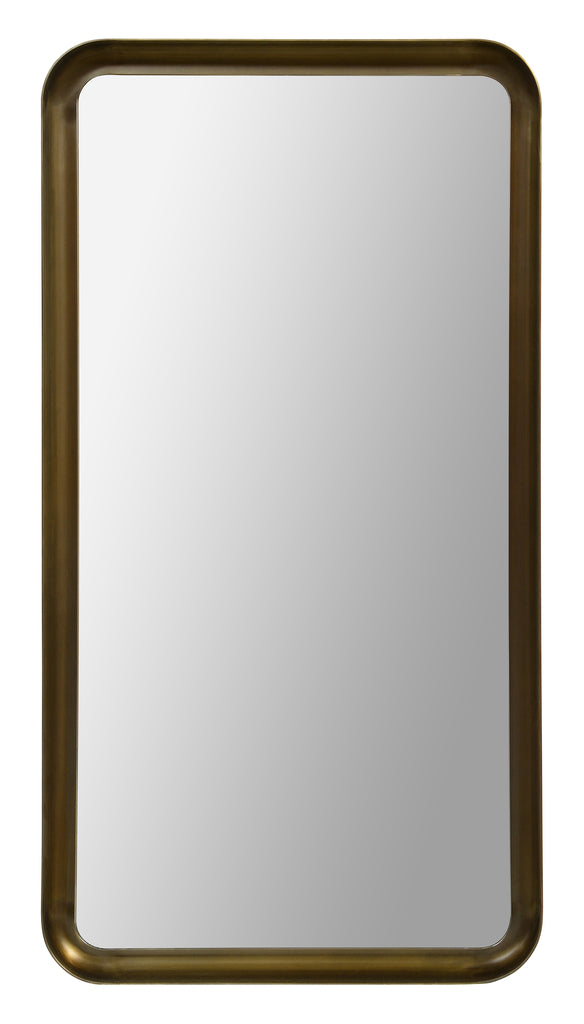 Mirror with rounded corners