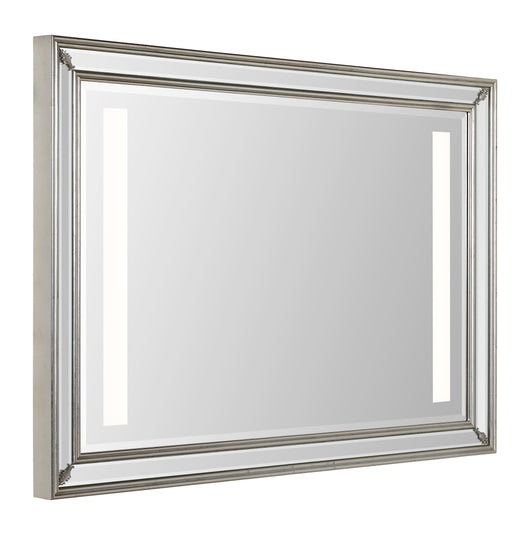satin metal frame