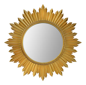 Sun shaped mirror