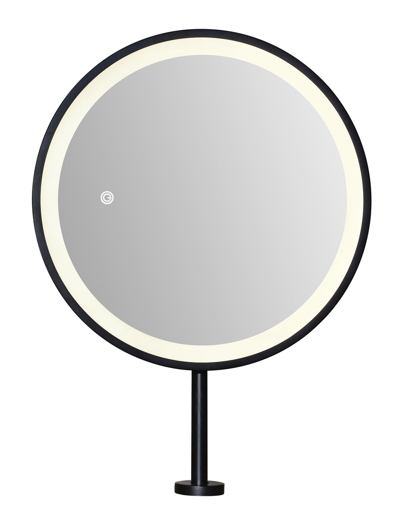 Mirror with dimmer switch