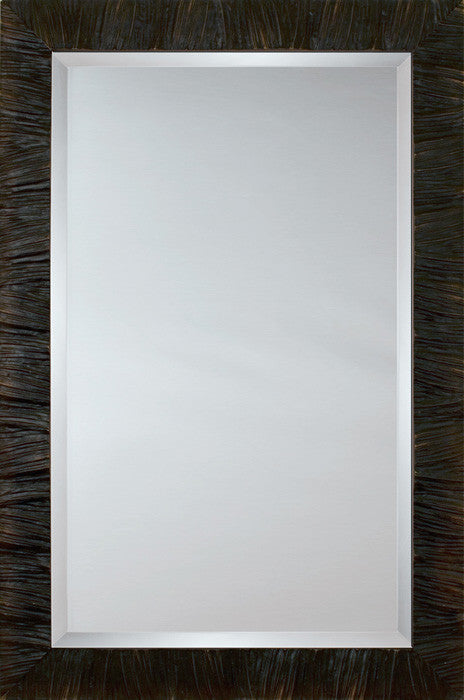 81198 - Ebony Ridged Mirror