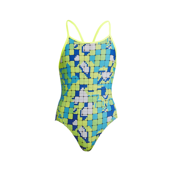 Diamond back On Piece | Funkita Kids | Glow Rider