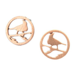 Tui Earrings | Rose Gold