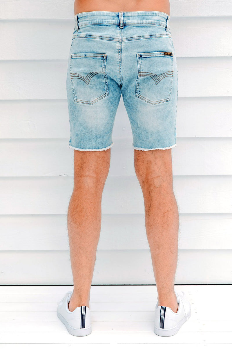 Denim Jean Shorts l Mens