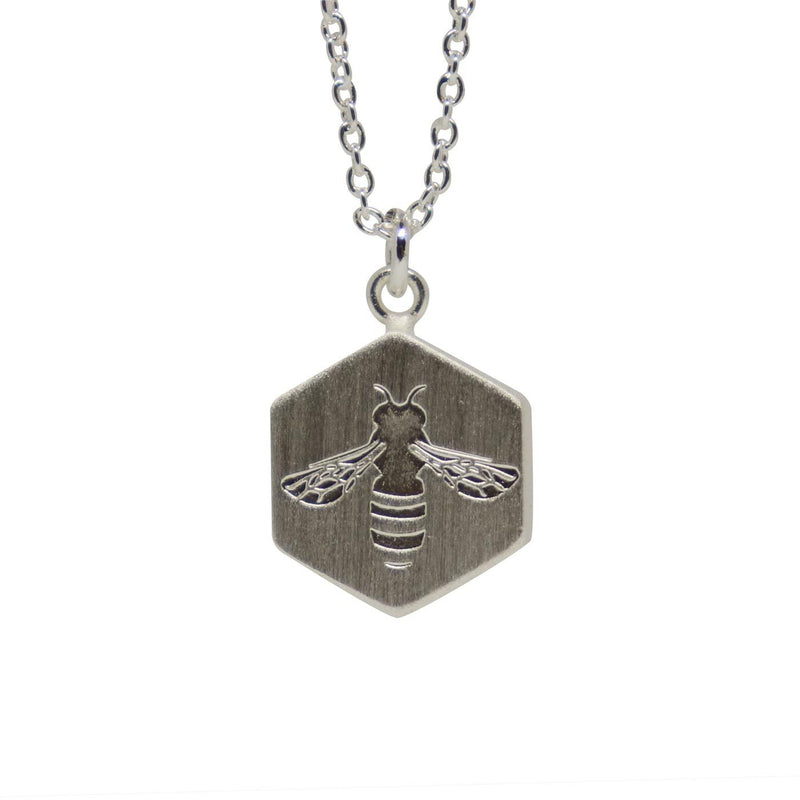 Busy Bee | Silver Necklace