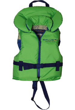 Child Life Vest (14kg-27kg) | Lime - Frogs and Toadstools