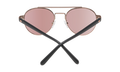 Spy Optic - Deco Sunglass - Rose Gold/Matte Black - Happy Bronze Rose Quartz Spectra