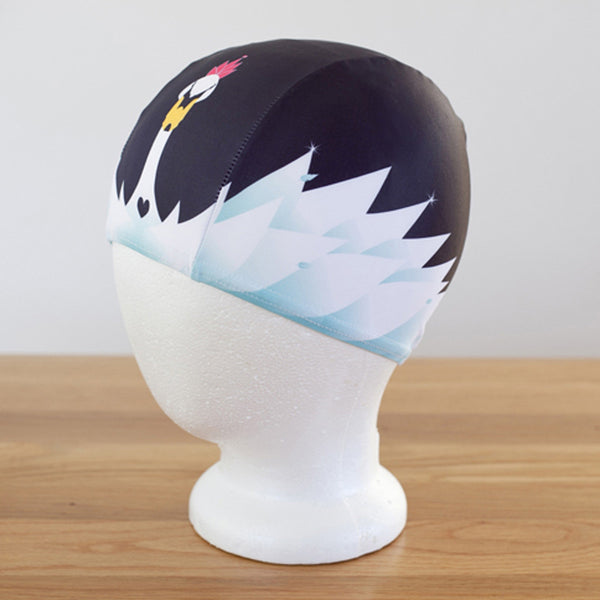 Swimming Cap | Swan Lake (Lycra)