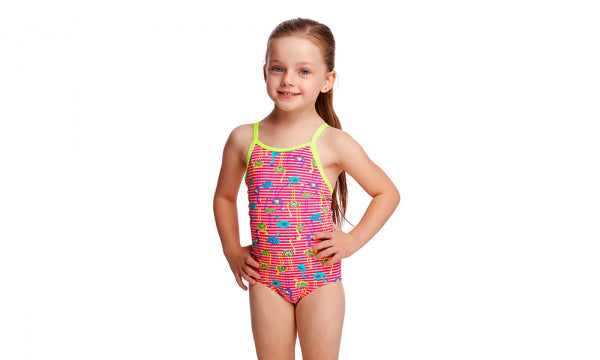 Printed One Piece | Funkita Kids | Flaming Stripes