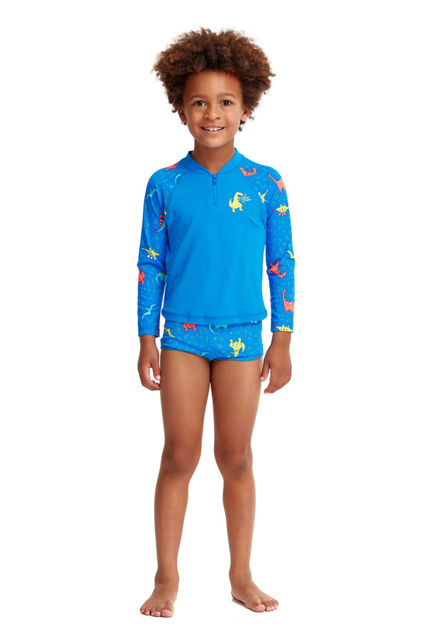 Zippy Rash Vest | Dino Soup