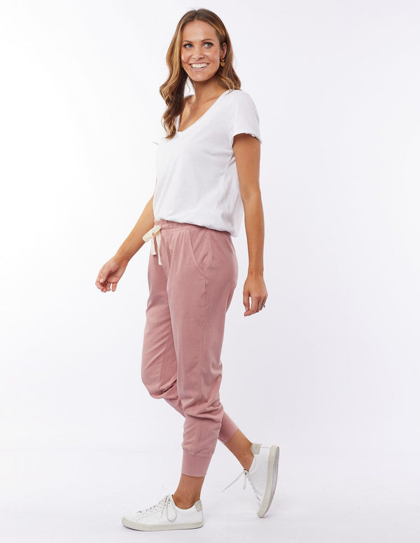 Wash out Lounge Pant | Rose