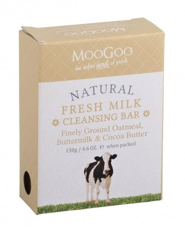MooGoo - Finely Ground Oatmeal Cleansing Bar - 130g