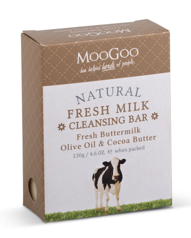 MooGoo - Fresh Buttermilk Cleansing Bar - 130g