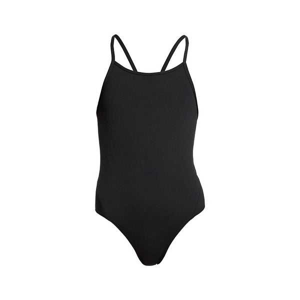 Diamond Back One Piece | Still Black