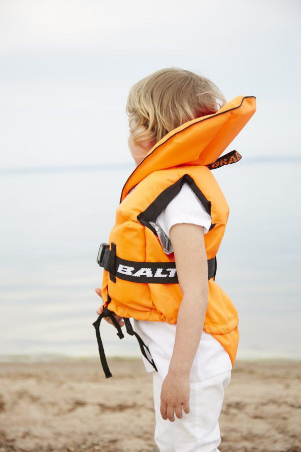 Baltic - Pro Sailor Life Jacket - Orange - 15kg - 30kg