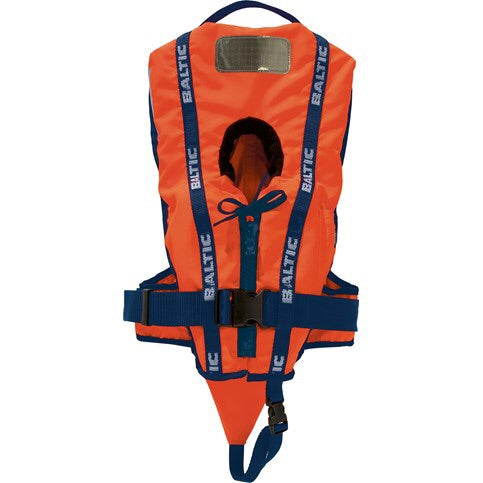 Baltic Bambi Life Jacket | Orange 3-10kg - Frogs and Toadstools