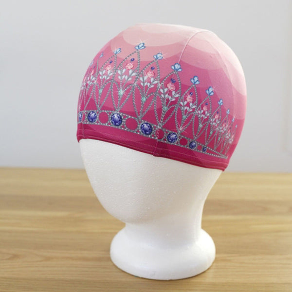 Swimming Cap | Tiara in Princess Pink (Lycra)