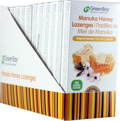 Manuka Honey Lozenge - Original 22g (8 lozenges per packet) - 12 packets