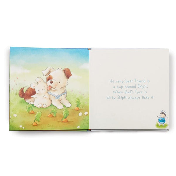 Puppy and Bunny Book Page View