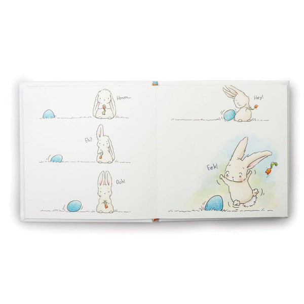 Bunny and Egg Book Illustrations