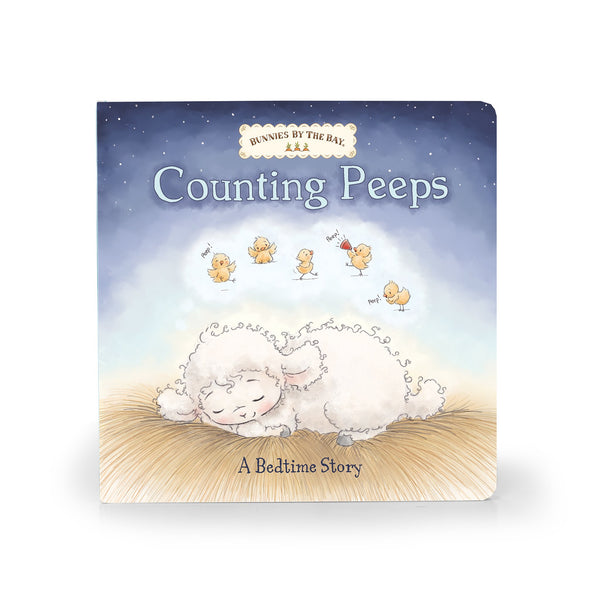 Closeup Counting Peeps Book