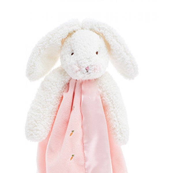 Close Up ~ Bunnies by the Bay's Pink Blossom Bunny Buddy Blanket Baby Shower Gift