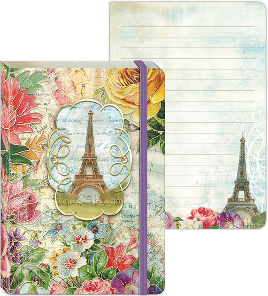 Floral Eiffel Paris Journal