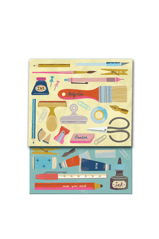 """Art Tools"" Pocket Notepad"