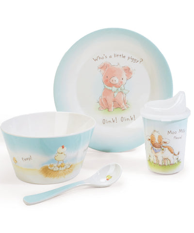 Farm Friends Baby Dish Set