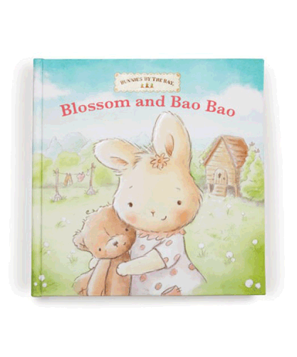 Bunnies by the Bay's Blossom and Bao Bao Bear Board Book