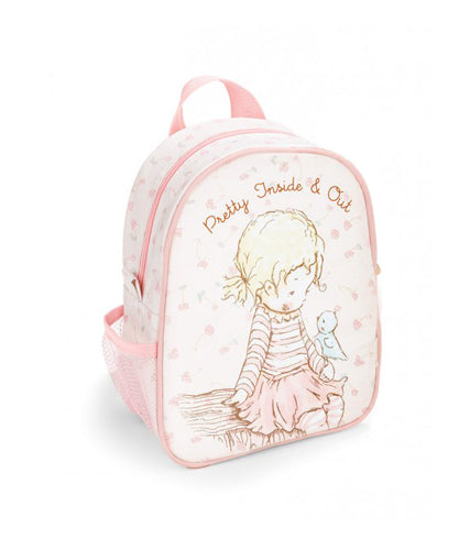 Pretty Girl Pink Backpack