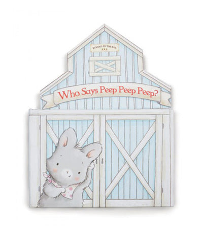 Who Says Peep Board Book