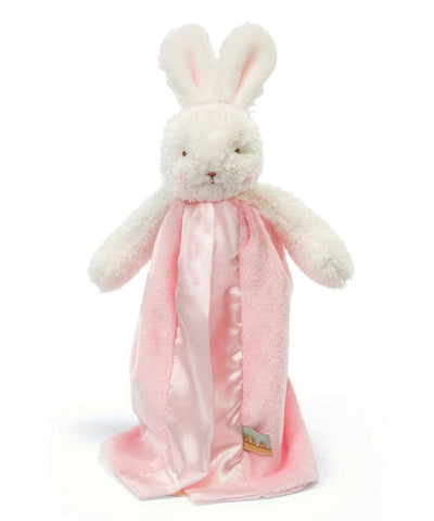 Bunnies by the Bay's Pink Blossom Bunny Bye Bye Buddy Blanket