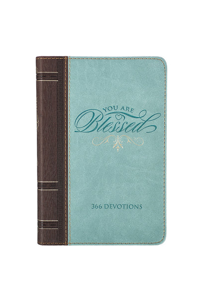 Cover You Are Blessed Aqua Devotional