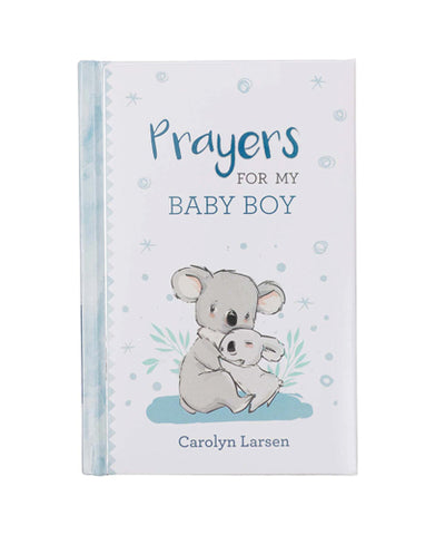 Prayers for My Baby Boy Cover with Koala Bears