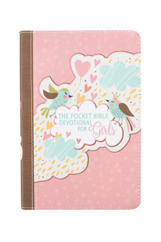 For Girls Pink Pocket Bible Devotional