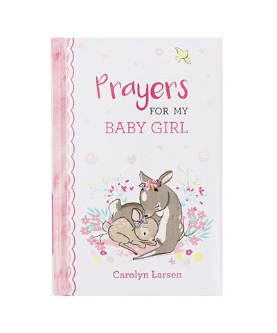 Prayer Book Cover with Mama & Baby Deer