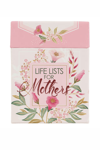 Pink Floral Inspirational Card for Moms Box