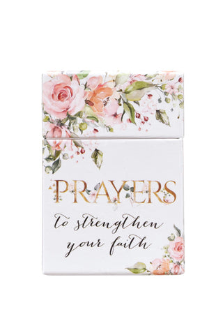 Beautiful Floral Prayer Card Box