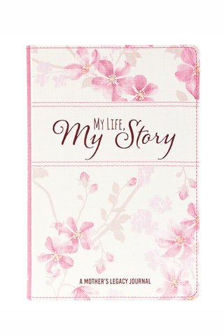 Pretty Floral Mother's Legacy Journal