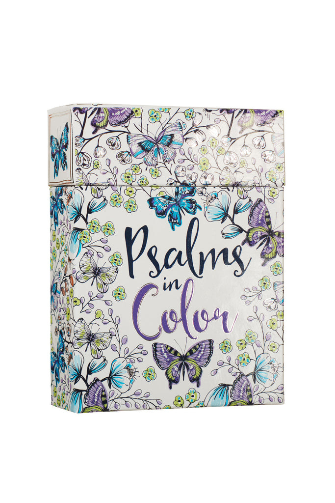 Psalms in Color Coloring Card Set