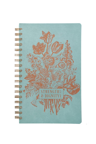 Strength & Dignity Wire-Bound Journal