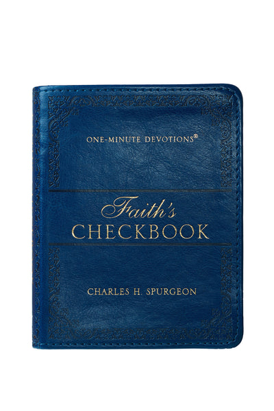 Faith's Checkbook Devotional Cover