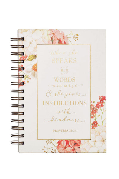 Proverbs 31 Floral Journal Cover