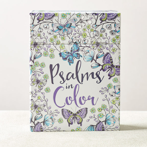 Psalms in Color Boxed Cards