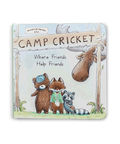 Bunnies by the Bay's Camp Cricket Children's Board Book