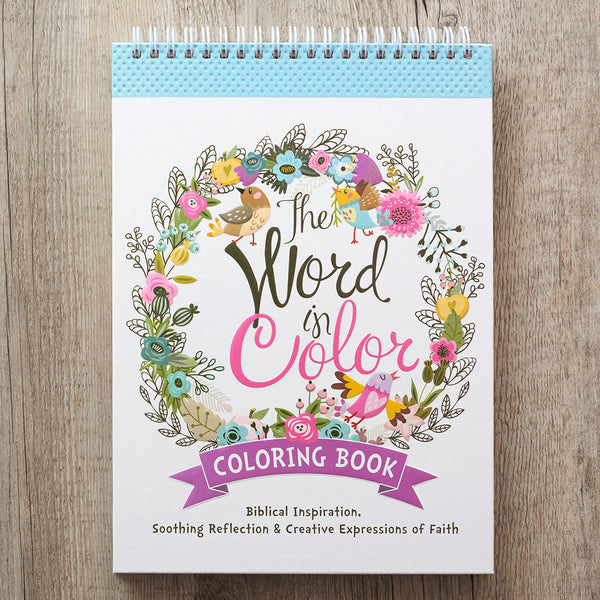 Word in Color Coloring Book Cover