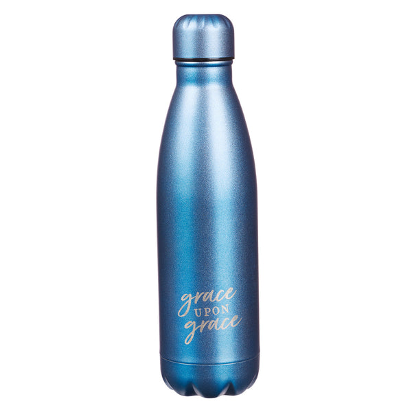 Blue Steel Water Bottle
