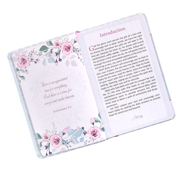 Floral Devotional Introduction Page